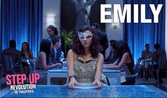 Emily (Kathryn McCormick)  - Step Up Revolution