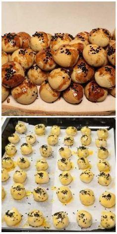 #kurabiye #cookies #yemektarifleri #cooking Yami Yami, Doughnut, Biscotti, Muffin, Food And Drink, Breakfast, Cake, Desserts, Recipes