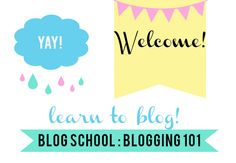 Blog School : How To Start A Blog | justb.  ~ ¸.•♥•.¸¸  - great site too!! ¸.•♥•.¸¸
