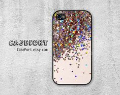 Sparkle Glitter iPhone 4 Case iPhone 4s Case iPhone 4 by CasePort, $9.99