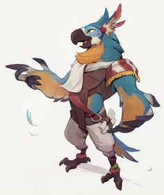 kass by smelly The Legend Of Zelda, Character Concept, Character Art, Anthro Furry, Character Design References, Animal Design, Bird Design, Character Design Inspiration, Creature Design