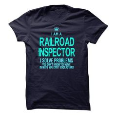 Im A/An RAILROAD INSPECTOR - #tshirt painting #hoodie refashion. GET => https://www.sunfrog.com/LifeStyle/Im-AAn-RAILROAD-INSPECTOR-32531783-Guys.html?68278