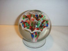 "Antique Paperweights and Their Value | AA20 Antique American Paperweight, 3"" Diameter"