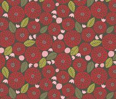 round_and_round_gray fabric by stacyiesthsu on Spoonflower - custom fabric