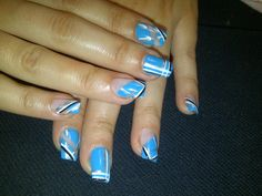Nailpro Mag Blue Nail Art