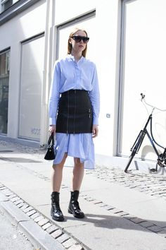 Street style at Copenhagen Fashion Week 2016
