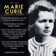 Happy #WomensHistoryMonth! I'm celebrating by sharing an awesome #STEMWoman every day in March. First up, Marie Curie! She's part of my #WomeninSTEM jewelry series- check it out at AubergDesigns.com....