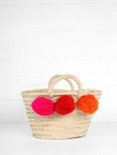 Bohemia-Basket-Mini-Market-Pom-Pom-Red