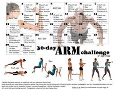 Arm Challenge 30 day gunna try and do it in January:)