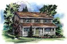 4 bedroom house plan with open concept kitchen/family room, formal areas, mudroom