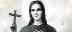 santos e santas católicos santa Rosa de Viterbo- Pesquisa Google