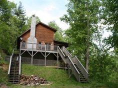 St. John's Ridge Valle Crucis Log Cabin Rental
