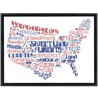 Let's Be Proud Counted Cross Stitch Kit
