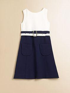 Milly Minis - Girl's Cece Combo Dress - Saks.com