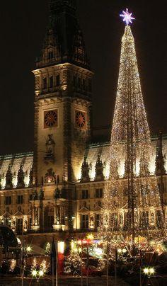 #Travel - Hamburg Christmas Market, It's so beautiful