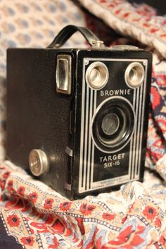 Brownie box camera, I remember my grandmother talking about these Repinned by www.silver-and-grey.com