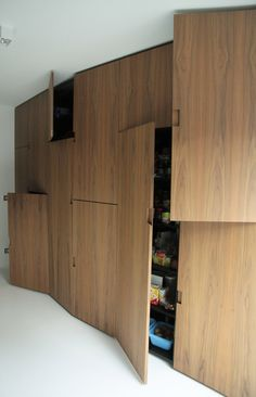 Interior design for a bathroom and kitchen in Antwerp (BE) -- TRAJEKT architectengroep bvba