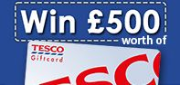 You may win £500 voucher for Tesco