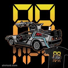 88MPH | Shirtoid #88mph #backtothefuture #delorean #film #movies #timemachine #timetravel #trulymadlygeekly