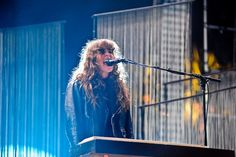 Curly fringe? Yea or Nay. (Victoria Legrand/Beach House Perform at Coachella 2013)