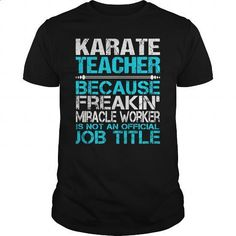 Awesome Tee For Karate Teacher - #tommy #purple hoodie. SIMILAR ITEMS => https://www.sunfrog.com/LifeStyle/Awesome-Tee-For-Karate-Teacher-123900256-Black-Guys.html?60505