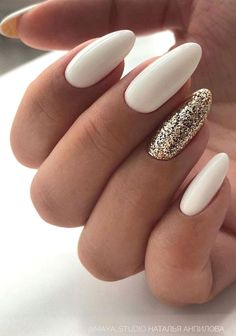 57 Gorgeous Wedding Nail Designs for Brides bridal nails 2019 wedding nails bride wedding nails with glitter nails for wedding guest Cute Acrylic Nails, Cute Nails, Pretty Nails, My Nails, Glitter Nails, Plum Nails, Nail Art Designs, Wedding Nails Design, Wedding Designs