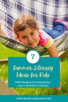 7 Summer Ideas for Spanish Reading & Writing - Bilingual Balance
