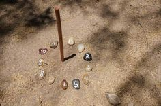 """nature school project: DIY sundials 
