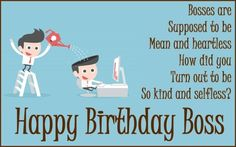 Funny Birthday Images For Boss Message Happy Quotes