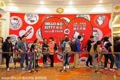 Hello Kitty's 40th Anniversary SHANGHAI - Google zoeken