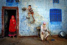 Isa Ebrahim. Jodhpur family, Rajasthan. Honorable Mention Travel Category.