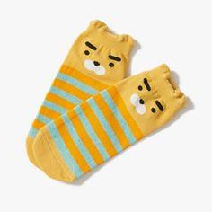 Kakao Friends Ryan Women Kids Character Ankle Socks Casual Low Cut  #KakaoFriends #AnkleSocks