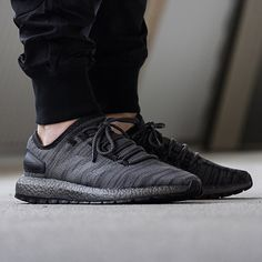 newest 1dcaf a4cdf The triple black colourway of the  adidasoriginals Pure Boost All Terrain  also Drops online tonight