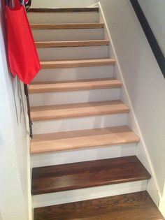 How To Scribe Skirt Board Trim For A Staircase Install A