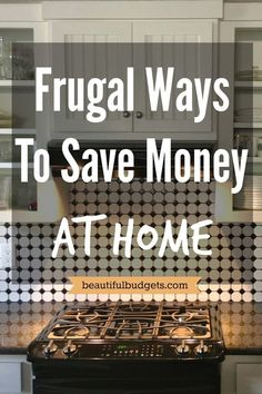 Small changes really do make a big difference. In fact, after reading this post, you will learn that the frugal ways to save money at home is actually pretty simple.These tips are so easy and effective, yet the benefits of applying them will constantly and consistently reward you every time.