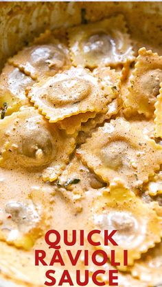 5 Minute Ravioli Sauce that will taste delicious with every type of pasta! 5 Minute Ravioli Sauce that will taste delicious with every type of pasta! 5 Minute Ravioli Sauce that will taste delicious with every type of pasta! Italian Dishes, Italian Recipes, Italian Sauces, Pasta Dishes, Food Dishes, Main Dishes, Pasta Recipes, Cooking Recipes, Frozen Ravioli Recipes