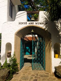 Pinto art museum entrance Philippines Travel, Art Museum, Entrance, Mountains, Mansions, House Styles, Decor, Entryway, Decoration