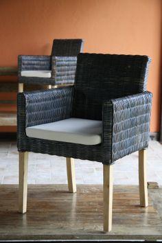Cadeira em Rattan Tibet  www.lojagajah.com.br