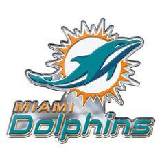 7d2d2a8884c Miami Dolphins Auto Emblem Color Alternate Logo