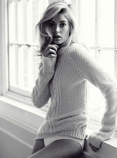 {fashion inspiration | editorial : doutzen kroes for telegraph fashion} by {this is glamorous}, via Flickr