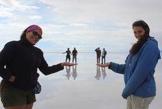 Perspectiva, Salar de Uyuni, Bolivia.