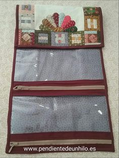 Sewing Case, Sewing Kit, Needle Book, Textiles, Clutch Purse, Storage Solutions, Diy And Crafts, Patches, Couture
