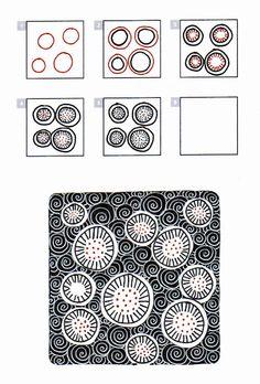 koryl | art journaling doodles #zentangle