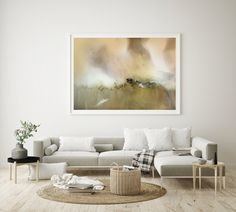 In the morning light | Mariëtte Kotzé Fine Art print |  Yellow - Gold Abstract | Giclée Print | Limted Edition Colorful Clouds, Ink Wash, Paper Dimensions, Morning Light, White Ink, Macro Photography, Giclee Print, Fine Art Prints, Abstract