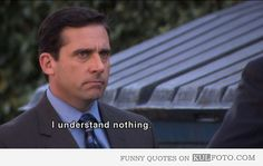 The Office Quotes: Michael Scott Doesn't Understand Film Quotes, Funny Quotes, Funny Memes, Hilarious, Funny Senior Quotes, Funny Math, Famous Movie Quotes, Funniest Memes, Best Office Quotes
