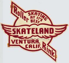 Skateland Roller Rink Ventura California