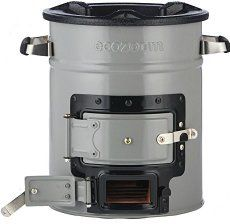 This efficient wood stove will heat your home cheaper and more efficiently than fossil fuel alternatives.
