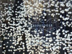 marshmallow window. NO ONE does it better than Anthro when it comes to fresh new display ideas
