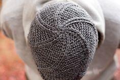 spiral knit pattern