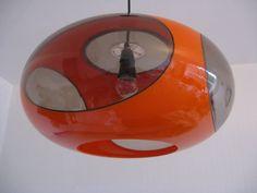 Vintage Luigi Colani UFO Space Age Lamp 1970s by windesign on Etsy, $359.00